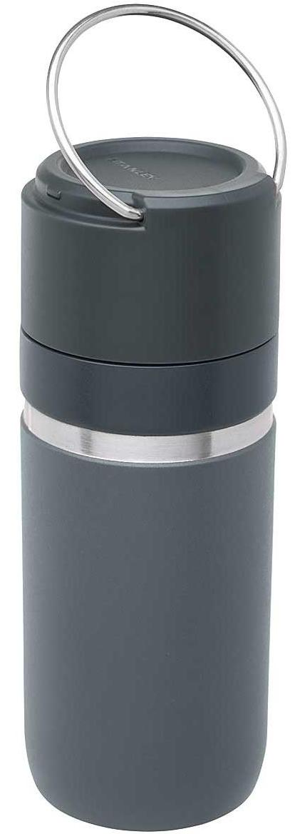 Go Series Vacuum Bottle 470 ml - Dunkelgrau