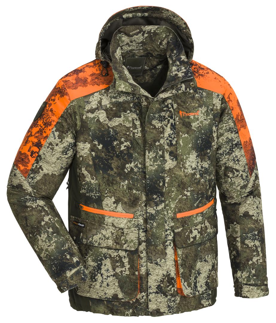 Jacke Herren Forest Camou - Camouflage/Orange