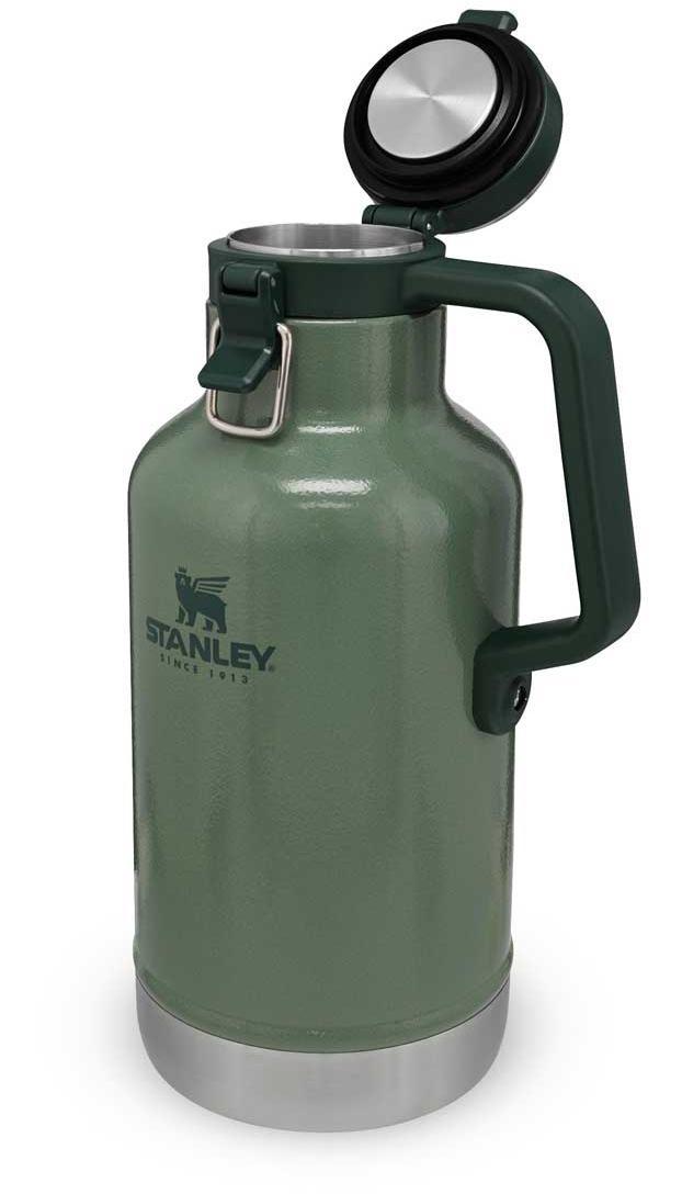 Classic Vacuum Easy-Pour Growler 1,9 Liter - Hammertone Green